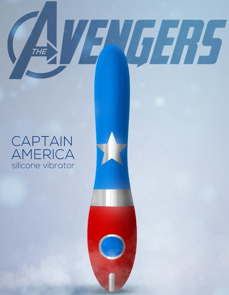 vibrador avengers