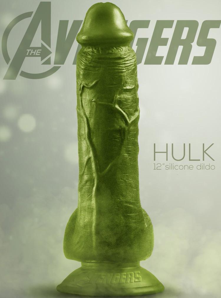 vibrador hulk